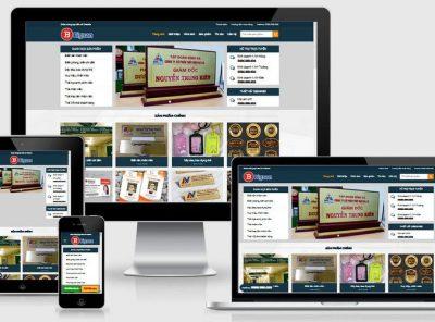 Fullcode website thiết kế bảng biển FC207 2