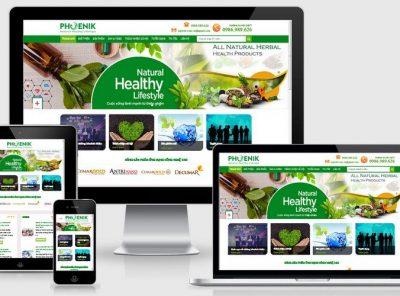 Fullcode website công ty bán dược phẩm thiên nhiên FC209 11