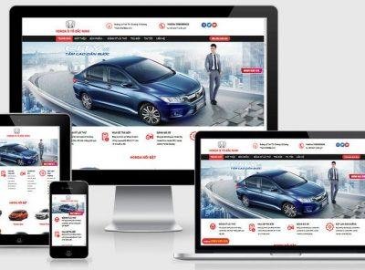 Fullcode website Honda ô tô Bắc Ninh FC217 6