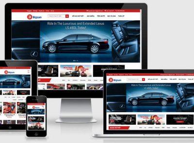 Fullcode website bán nội thất ô tô FC212 23