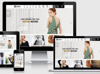 Fullcode website thời trang thiết kế FC214 7