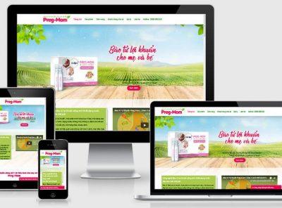 Fullcode website bán thực phẩm chức năng FC215 20