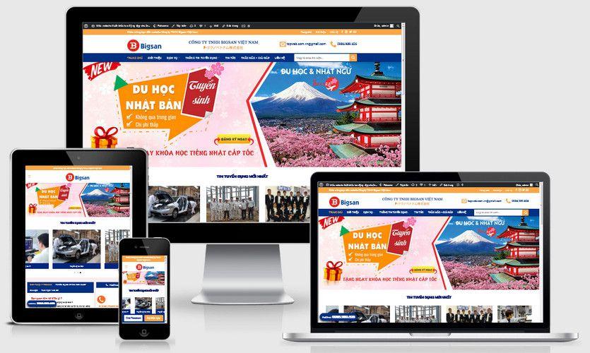Fullcode website xuất khẩu lao động Nhật bản FC216 1