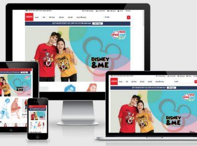 Fullcode website thời trang trẻ FC221 6