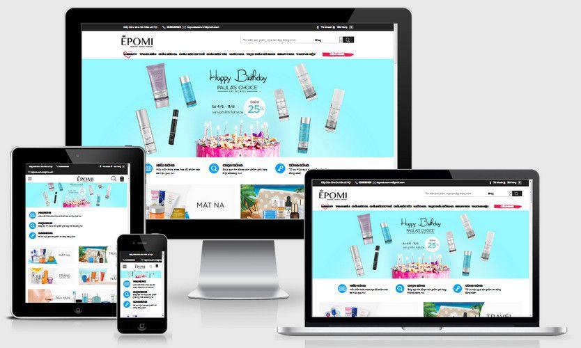 Fullcode website mỹ phẩm làm đẹp FC223 1
