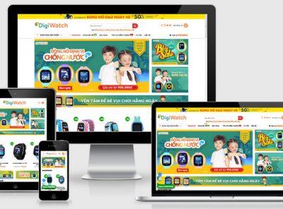 Fullcode website bán đồng hồ định vị FC218 2