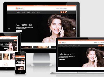 Fullcode website thời trang trang sức FC224 5