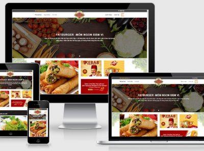 Fullcode website ẩm thực đẹp FC226 4