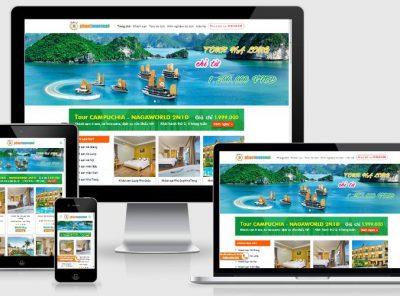 Fullcode website du lịch phượt FC228 5