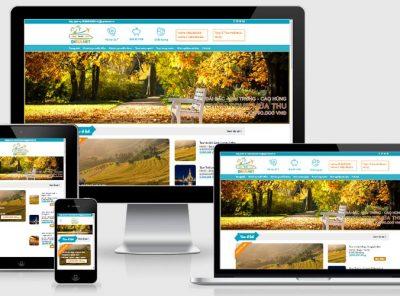 Fullcode website du lịch vùng miền FC229 4