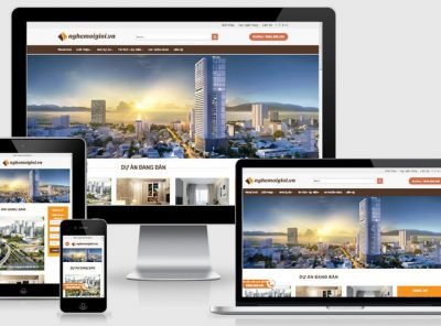 Fullcode website môi giới nhà đất FC230 3