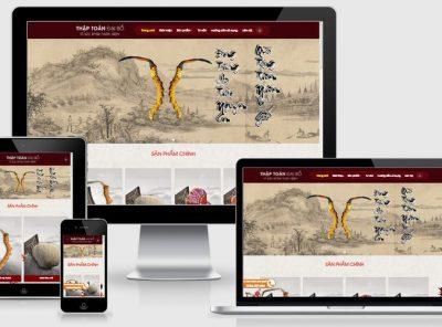 Fullcode website bán nhân sâm FC233 5