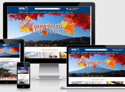 Fullcode website du lịch vui đẹp FC244 7