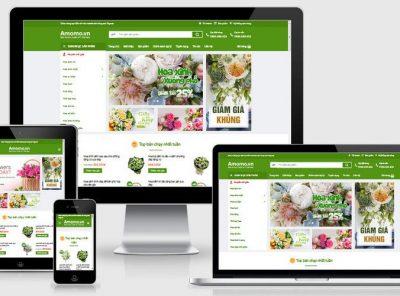 Fullcode website shop hoa yêu thương FC242 7