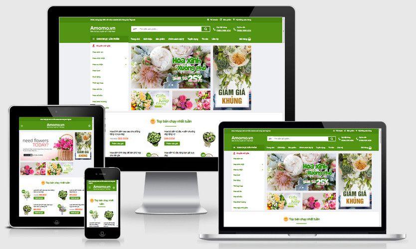Fullcode website shop hoa yêu thương FC242 1