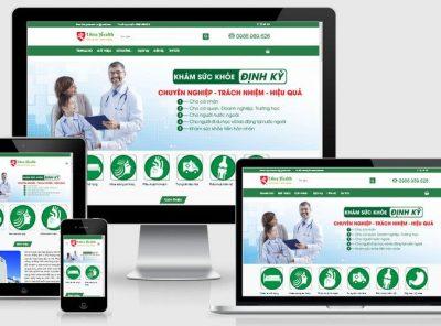 Fullcode website khám sức khỏe FC245 2
