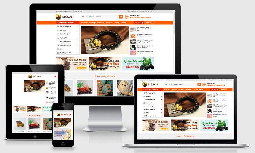 Fullcode website shop phong thủy FC241 1