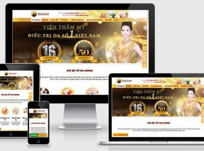 Fullcode website spa làm đẹp FC239 14