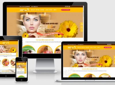 Fullcode website spa mai vàng FC246 2