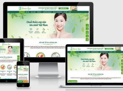 Fullcode website spa thẩm mỹ viện FC240 4