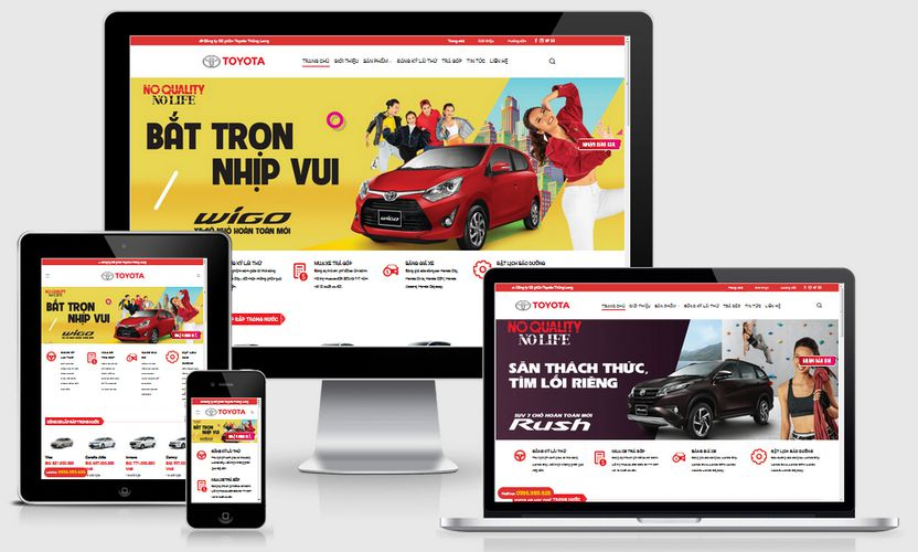 Fullcode website Toyota Thăng Long FC248 1