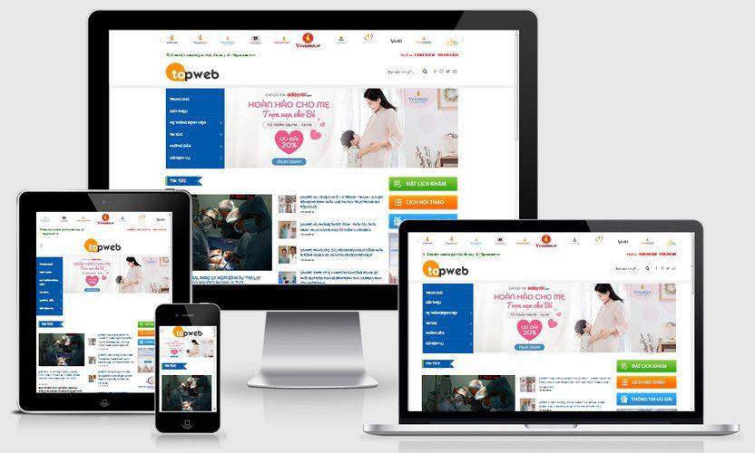 Fullcode website tin tức bệnh viện FC258 1