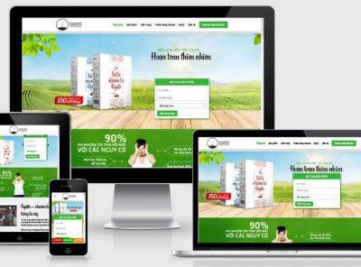 Fullcode website dược phẩm chức năng FC260 7