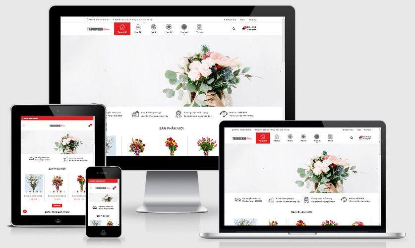 Fullcode website shop hoa đẹp FC249 1