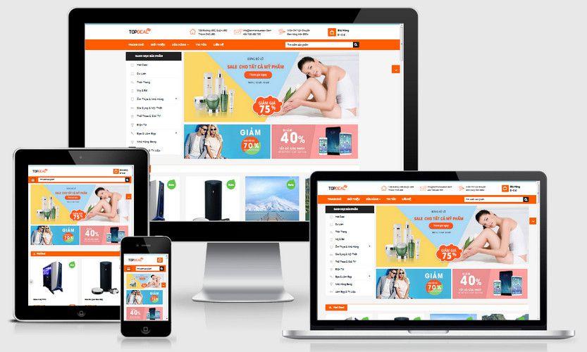 Fullcode website siêu thị giảm giá FC252 1
