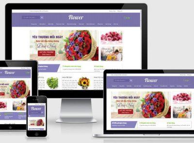 Fullcode website siêu thị hoa đẹp FC253 6
