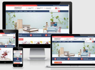 Fullcode website siêu thị nội thất FC255 4