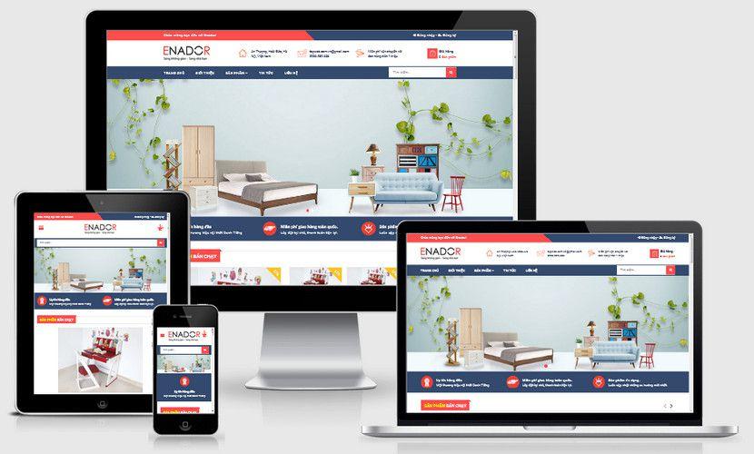 Fullcode website siêu thị nội thất FC255 1