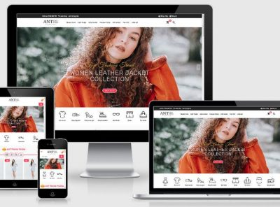 Fullcode website siêu thị thời trang FC257 2