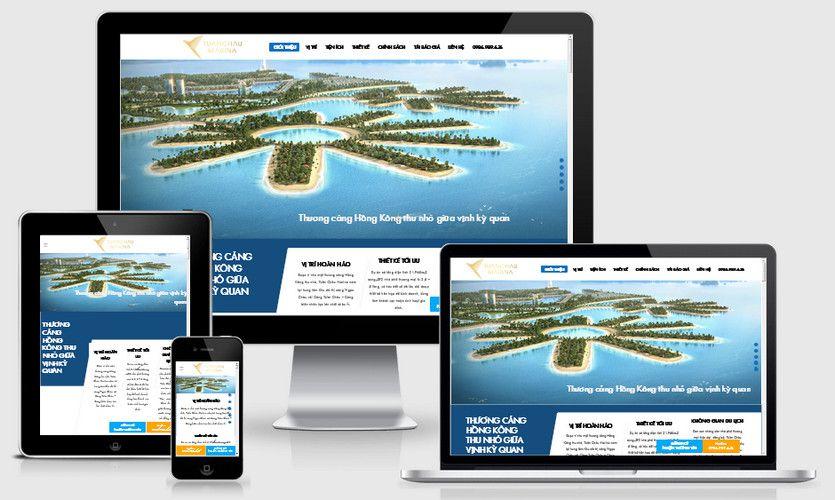Fullcode website bất động sản dự án FC265 1