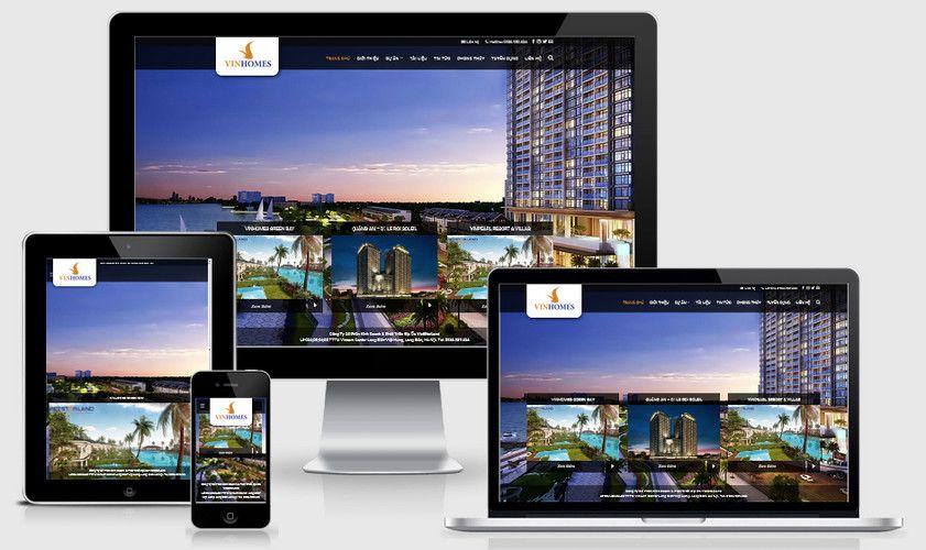Fullcode website nhà đất căn hộ FC268 1