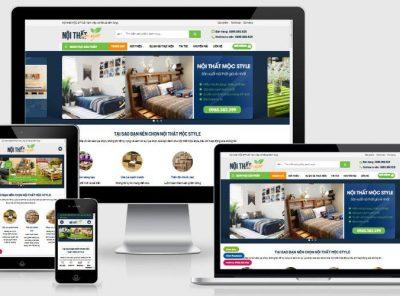 Fullcode website bán nội thất mộc FC273 6