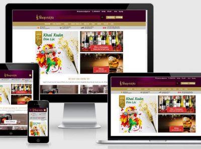 Fullcode website shop rượu đẹp FC274 2