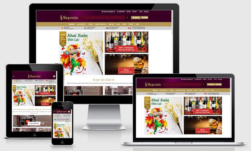 Fullcode website shop rượu đẹp FC274 1