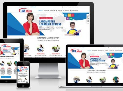 Fullcode website trung tâm tiếng anh FC277 4