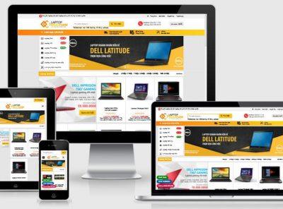 Fullcode website bán Laptop cũ FC280 3