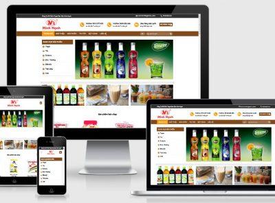 Fullcode website nguyên liệu trà sữa FC287 3