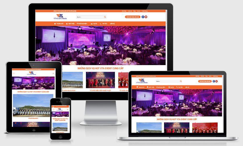 Fullcode website tổ chức sự kiện FC281 1