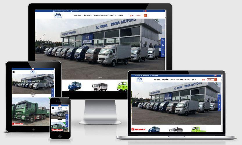Fullcode website đại lý bán xe tải TMT FC283 1