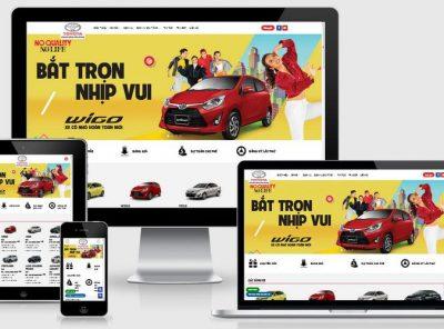 Fullcode website bán xe Toyota FC284 6