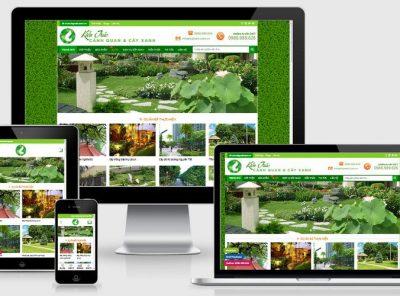 Fullcode website bán cây xanh cây cảnh FC288 7