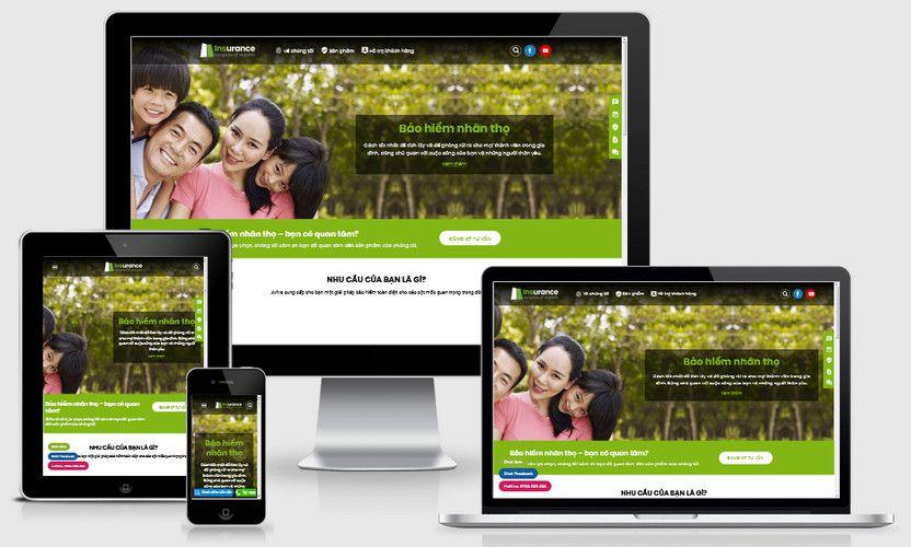 Fullcode website dịch vụ bảo hiểm nhân thọ FC304 1