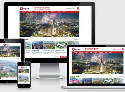 Fullcode website giới thiệu công ty cổ phẩn FC306 2