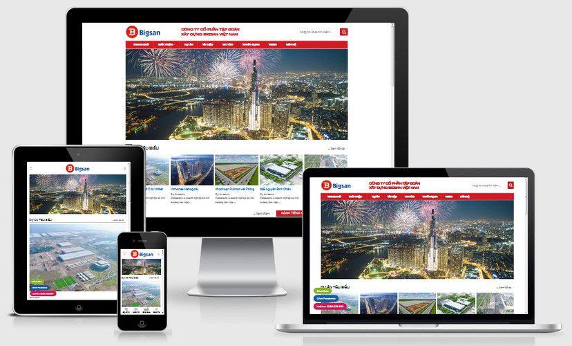 Fullcode website giới thiệu công ty cổ phẩn FC306 1