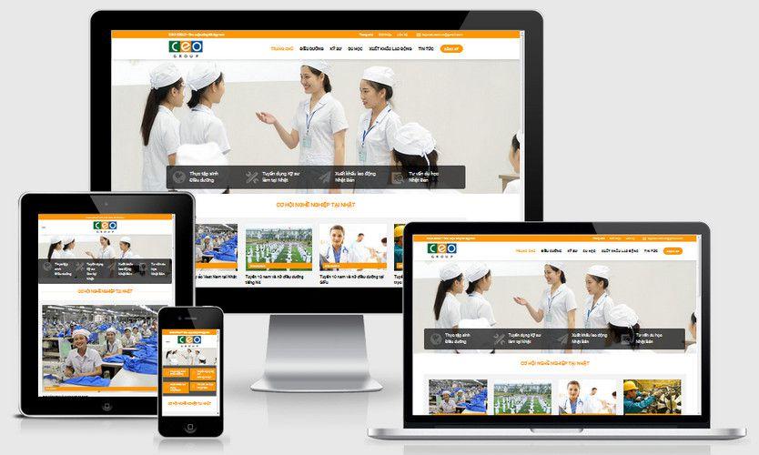 Fullcode website công ty xuất khẩu lao động FC290 1
