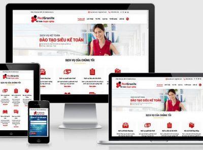 Fullcode website công ty dịch vụ kế toán FC292 3
